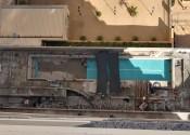 10/05/19 - Vista do assentamento da cerâmica na piscina adulto