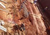 17/05/19 - Escavação para fundações dos trechos 3/4 de periferia.