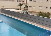 08/11/19 - Vista da execução dos serviços na região da piscina adulto