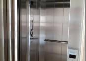 03/02/20 – Detalhe do elevador privativo do duplex