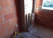 17/03/20 - Detalhe da prumada hidro sanitárias do 16° pavimento.
