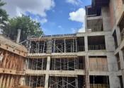 17/04/20 – Vista frontal da estrutura da periferia.