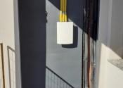 18/06/20 - Vista do shaft da varanda técnica do 2° pavimento (apto. Modelo).