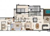 Apartamento Duplex Superior