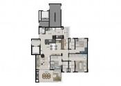 Planta Apartamento Tipo_com 03 suítes