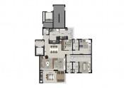 Planta  Apartamento Tipo_