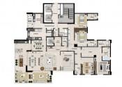 Planta  Apartamento Tipo_Opção