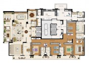 Planta  Apartamento Tipo Opção