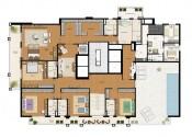 Planta Apartamento Duplex Pavimento Superior