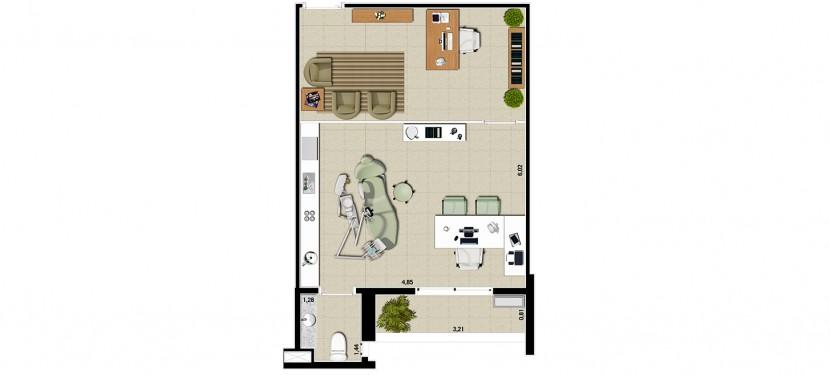 Dentista 37,50 m²