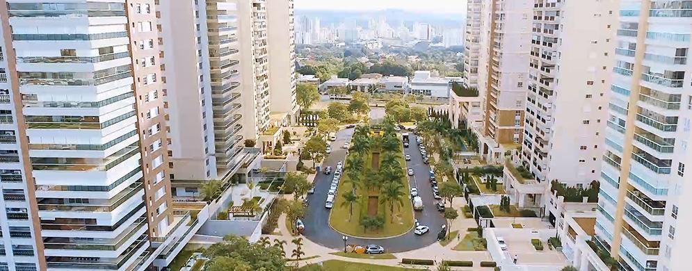 Complexo urbanístico 100% concluído